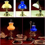 Lampade in ottone da tavolo - a piantana - a soffitto - applique a muro. Vuoi saperne di più? Clicca sul link sotto