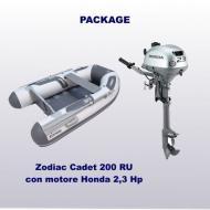 Cadet 200 RU + Honda 2,3 Hp