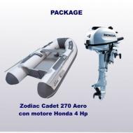 Cadet 270 Aero + Honda 4 Hp