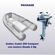Cadet 250 Compact + Honda 4 Hp (carena VTR)