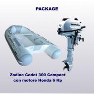 Cadet 300 Compact + Honda 6 Hp (carena VTR)