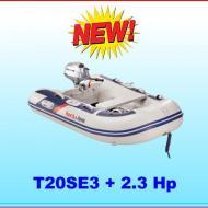Tender T20SE fondo a listelli con motore 2,3 Hp