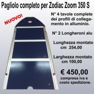 Pagliolo completo per Zodiac mod Zoom 350S serie Z15027 ANNI 2009-10