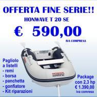 Fine serie Honwave mod T20 SE pagliolo a listelli e accessori standard