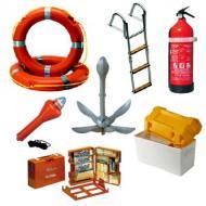 Tutti gli accessori per l'allestimento e il completamento delle dotazioni di bordo