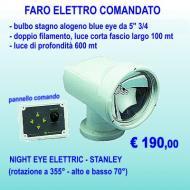 Faro elettrocomandato 12 volt: bulbo stagno alogeno 5