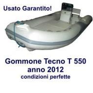 Gommone Tecno mod T 550 anno 2012 condizioni perfette