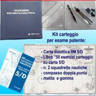1 carta didattica 5/D; 1 libro